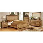 Pioneer 6 Piece Bedroom Set by Furniture of America - FOA-CM7449