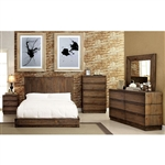 Amarante Bed by Furniture of America - FOA-CM7624-B
