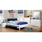 Kimmel 6 Piece Bedroom Set by Furniture of America - FOA-CM7626BL