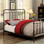 Iria Bed by Furniture of America - FOA-CM7701GM-B
