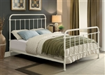 Iria Bed by Furniture of America - FOA-CM7701WH-B