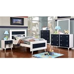 Alivia 6 Piece Bedroom Set by Furniture of America - FOA-CM7850BL