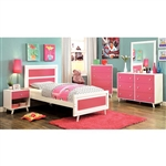 Alivia 6 Piece Bedroom Set by Furniture of America - FOA-CM7850PK