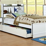 Bobbi Bed by Furniture of America - FOA-CM7852BL-B