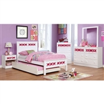 Cammi 6 Piece Bedroom Set by Furniture of America - FOA-CM7853PK