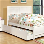 Prismo Twin Bed by Furniture of America - FOA-CM7941WH-B