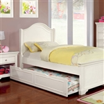 Mullan Bed by Furniture of America - FOA-CM7943WH-B