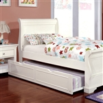 Mullan Bed by Furniture of America - FOA-CM7944WH-B