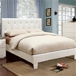 Velen Bed by Furniture of America - FOA-CM7949WH-B