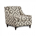 Parker Chair in Ivory with Diamond Pattern by Furniture of America - FOA-SM8563-CH-SC