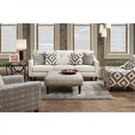 Parker Sofa in Ivory by Furniture of America - FOA-SM8563-SF