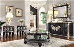 Traditional Victorian 3 Piece Occasional Table Set by Homey Design - HD-1208-OT