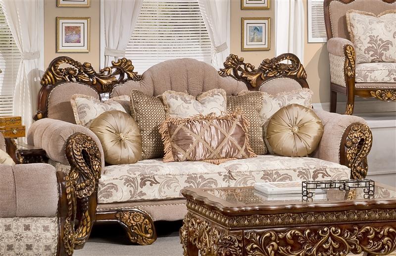 . Inca 2 Piece Living Room Set by Homey Design HD 275