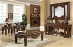 Traditional 3 Piece Occasional Table Set by Homey Design - HD-430