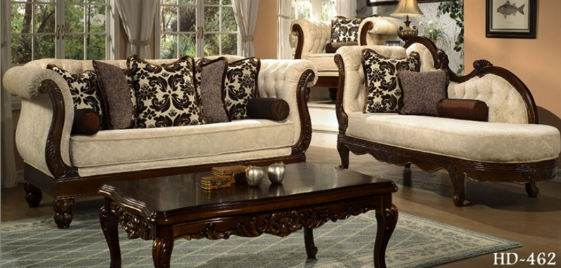 . Aquila 2 Piece Living Room Set by Homey Design HD 462