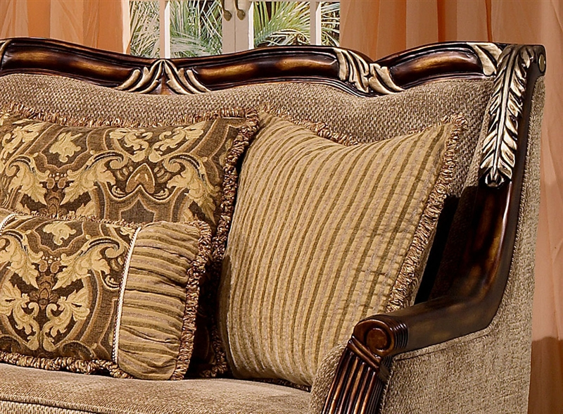 . Coria 2 Piece Living Room Set by Homey Design HD 4825