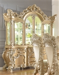 Imperial Ornately Carved China Cabinet by Homey Design - HD-7012-CB