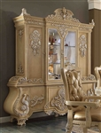 Victorian Carved China Cabinet by Homey Design - HD-7266-CB