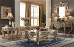 Traditional 3 Piece Occasional Table Set by Homey Design - HD-7266-OT