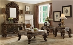 Vienna Mansion Euro Wood 3 Piece Occasional Table Set by Homey Design - HD-8011-OT