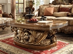 Victorian Dark Brown 3 Piece Occasional Table Set by Homey Design - HD-8018-OT