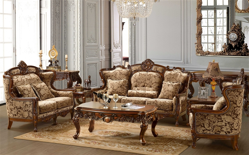 . Hyeres 2 Piece Living Room Set by Homey Design HD 839