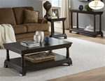 Inglewood 2 Piece Occasional Table Set in Deep Cherry Finish by Homelegance - 1402