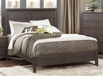 Lavinia Queen Bed in Weathered Grey by Home Elegance - HEL-1806-1