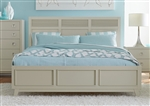Valpico Queen Bed in Cool Grey by Home Elegance - HEL-1905-1