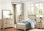 Lonan 4 Piece Youth Bedroom Set in Rustic by Home Elegance - HEL-1955T-1-4