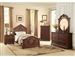 Lucida 4 Piece Youth Bedroom Set in Cherry by Home Elegance - HEL-2039TC-1-4