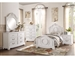 Lucida 4 Piece Youth Bedroom Set in White by Home Elegance - HEL-2039TW-1-4