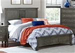 Garcia Queen Bed in Grey by Home Elegance - HEL-2046-1