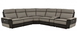 Laertes Sectional Reclining Sofa in Taupe by Home Elegance - HEL-8318-6C