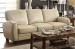 Rubin Sofa in Taupe by Home Elegance - HEL-9734TP-3