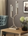 Annalina Table Lamp in Satin Nickel by Home Elegance - HEL-H10076