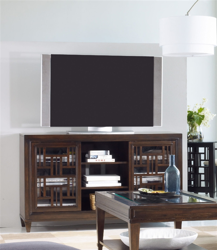 Captivating Ludlow Entertainment Console 60 Inch In Walnut Finish By Hooker Furniture  HF 1030 56402
