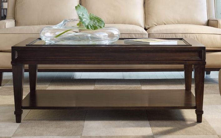 Hooker Furniture Coffee Table Part - 20: Ludlow Cocktail Table In Walnut Finish By Hooker Furniture HF-1030-81110