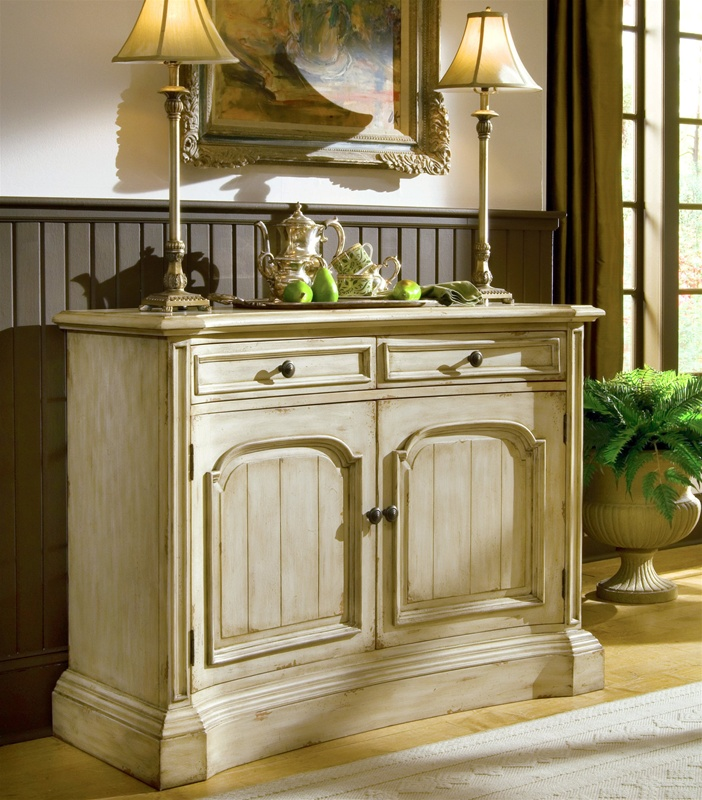 Summerglen 51 Inch Buffet In Off White Finish By Hooker Furniture HF 479 75 903