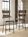Jennings Non-Swiver Counter Height Stool - Set Of 2 by Hillsdale - HIL-4022-822
