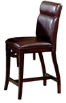 Nottingham Curved Non-Swivel Counter Stool - Set of 2 by Hillsdale - HIL-4077-822