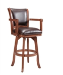 Parkview Swivel Counter Stool - Set of 2 by Hillsdale - HIL-4186-830