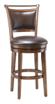 Calais Swivel Bar Stool by Hillsdale - HIL-4298-830S