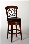 Bergamo Bar Stool by Hillsdale - HIL-4299-830S