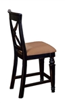Northern Heights Non-Swivel Counter Stool - Set of 2 by Hillsdale - HIL-4439-822W