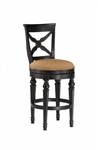 Northern Heights Swivel Bar Stool by Hillsdale - HIL-4439-830W
