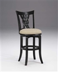 Embassy Swivel Bar Stool by Hillsdale - HIL-4808-832