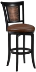 Cecily Swivel Bar Stool by Hillsdale - HIL-4887-830S