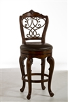 Burrell Swivel Counter Stool by Hillsdale - HIL-5170-826