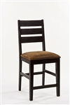 Killarney Ladder Back Non-Swiver Counter Stool - Set Of 2 by Hillsdale - HIL-5381-823